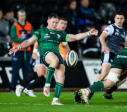 Kieran Marmion of Connacht<br /> <br /> Photographer Simon King/Replay Images<br /> <br /> Guinness PRO14 Round 6 - Ospreys v Connacht - Saturday 2nd November 2019 - Liberty Stadium - Swansea<br /> <br /> World Copyright © Replay Images . All rights reserved. info@replayimages.co.uk - http://replayimages.co.uk