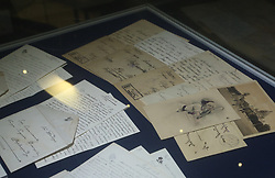 August 2, 2017 - Saint Petersburg, Russia - August 2, 2017. - Russia, Saint Petersburg. - Documents from the archive of the Romanov family handed over to the Tsarskoye Selo museum preserve. (Credit Image: © Russian Look via ZUMA Wire)