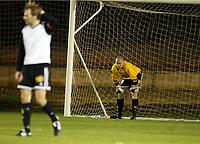 Fotball, 21. februar 2004, La Manga, Rosenborg-Dynamo Kiev 4-4,  Erik Hotun, Rosenborg og Espen Johnsen, Rosenborg