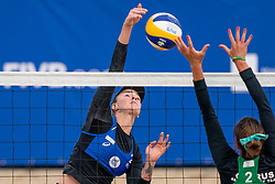 Daria Rudykh of Russia in action during CEV Continental Cup Final Day 1 - Women on June 23, 2021 in The Hague