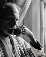 """My neighbor and close friend Jules was as intuitive as he was entertaining. Few people can throw an insult and cause the victims to laugh instead of get angry, but Jules could do that. In this photograph he was close to his end time and was suffering from Alzheimer's disease.  It's a study of the pensive veil that conusmed a wonderful mind. I titled it """"Birds No Longer Sing"""" like they do in the spring. This was the late autumn of his life. (This image is not for sale.)"""