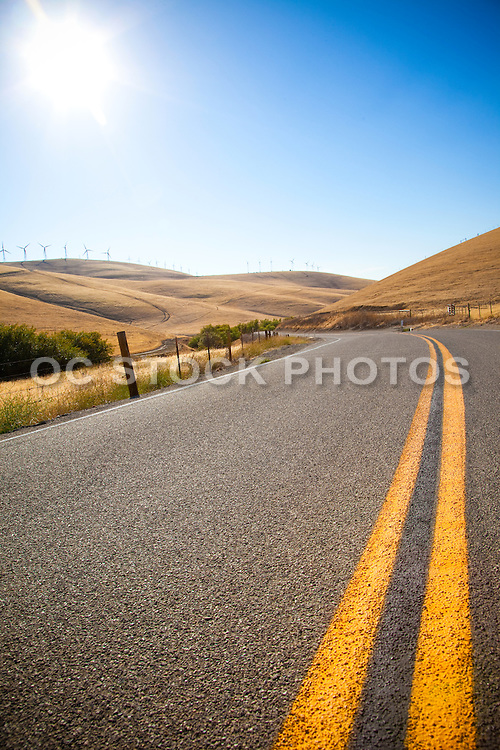 California Highway in Northern California