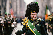 Band Leader at Parade, New York City, New York, USA, March 1984