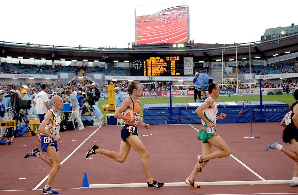 10-08-2006 ATLETIEK: EUROPEES KAMPIOENSSCHAP: GOTHENBORG <br /> Gert Jan Liefers plaatst zich vrijeenvoudig voor de finale op de 5000 meter.<br /> ©2006-WWW.FOTOHOOGENDOORN.NL