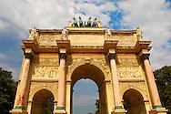 Paris - France -Jardin des Tuileries -Arch