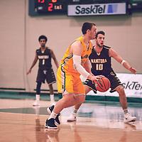 Regina Cougars Men's Basketball on November 16th, 2018 vs the University of Manitoba Bisons.