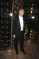 HAROLD TILLMAN at the 2008 British Fashion Awards held at the Lawrence Hall, Westminster, London on 25th November 2008.