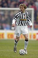 BOLOGNA, 22/02/2004<br />PARTITA DI SERIE A BOLOGNA-JUVENTUS 0-1<br />Pavel Nedved (Juventus)<br />FOTO CARLO BARONCINI/GRAFFITI