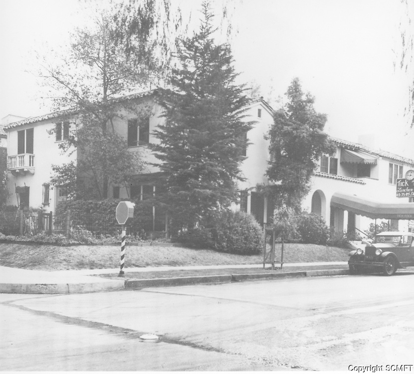 1930 Tick Tock Restaurant at Yucca and Wilcox Ave.