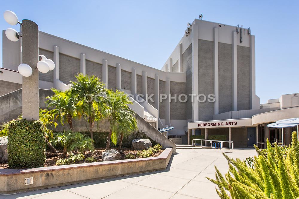 Haugh Performing Arts Center Side Entrance