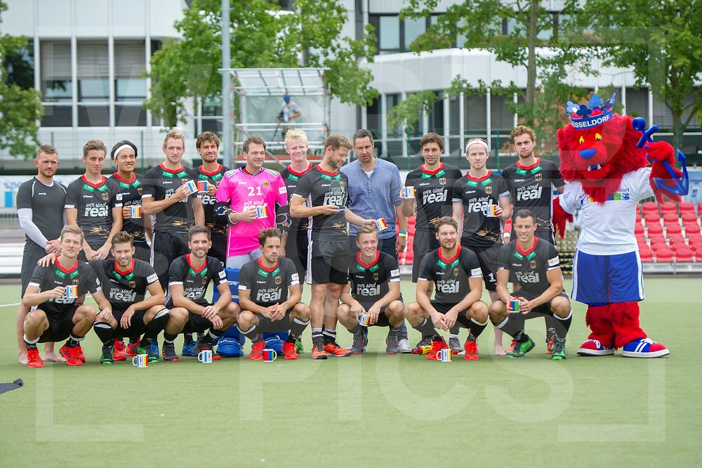 GER - Duesseldorf, Germany, July 29: During the international field hockey match between Germany and Argentina on July 29, 2018 at real Four Nations Cup in Duesseldorf, Germany. (worldsportpics Copyright Dirk Markgraf)<br /> *** Local caption ***