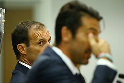 August 12, 2017 - Rome, Italy - Head coach of Juventus, Massimiliano Allegri, during the Juventus press conference ahead of the Italian Supercup at Olimpico Stadium on August 12, 2017 in Rome, Italy. (Credit Image: © Matteo Ciambelli/NurPhoto via ZUMA Press)