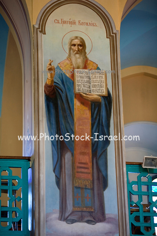 Israel, Jerusalem, Interior of The holy Trinity Cathedral (AKA The Latin Latin Patriarchate)