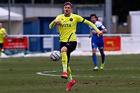 Richie Bennett. Eastleigh FC 1-0 Stockport County FC. Vanarama National League. Silverlake Stadium. 20.02.21