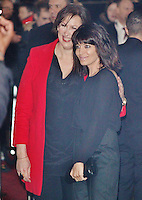LONDON - December 11: Miranda Hart & Claudia Winkleman at the Viva Forever Premiere (Photo by Brett D. Cove)