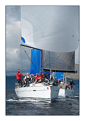 Largs Regatta Week - August 2012..Class 1 Fleet downwind, GBR8140C, Zephyr, Steve Cowie