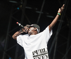 © Licensed to London News Pictures. 26/08/2012.  London, UK.  Flavour Flav of Public Enemy live at South West Four/SW4 on Clapham Common during the August Bank Holiday Weekend.  Photo credit : Richard Isaac/LNP