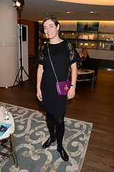 CAMILLA RUTHERFORD at a reception to launch the range of Dr Lancer beauty products held at The Penthouse, Harrods, Knightsbridge, London on 16th September 2013.