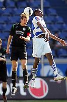 Fotball<br /> 2. Bundesliga Tyskland<br /> 11.03.2007<br /> Foto: Witters/Digitalsport<br /> NORWAY ONLY<br /> <br /> v.l. Thomas Kleine, Mohamadou Idrissou Duisburg<br /> 2.Bundesliga MSV Duisburg - SpVgg. Greuther Fuerth