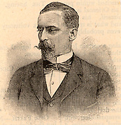 Henryk Sienkiewicz (1846-1916) Polish historical novelist who received the Nobel prize for Literature in 1905. His novel 'Quo Vadis' (1895), set in Rome during the time of the emperor Nero, has been filmed several times. Engraving from 'Great Thoughts from Master Minds' (London, 1901).