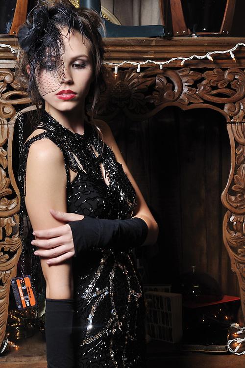 Kimberly Hendrix designs, December, 2010. Brian James Gallery Photography. MADISON MURRAY, model.
