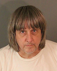 Jan 15, 2018 - Perris, U.S. - DAVID ALLEN TURPIN, 57, was arrested  after 12 people were found chained and padlocked to their beds Sunday in a Perris house. (Credit Image: © Riverside County Sheriff's Department via ZUMA Wire)