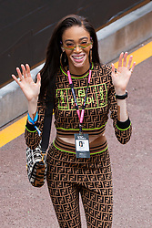 Winnie Harlow stroll along the pit lane at the 77th Monaco Grand Prix, Monaco on May 26th, 2019. Photo by Marco Piovanotto/Abacapress.com