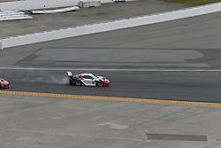 January 27, 2018 - Daytona, FLORIDE, ETATS UNIS - 58 WRIGHT MOTORSPORTS (USA) PORSCHE 911 GT3 R PORSCHE GTD PATRICK LONG (USA) CHRISTINA NIELSEN (DNK) ROBERT RENAUER (DEU) MATHIEU JAMINET  (Credit Image: © Panoramic via ZUMA Press)
