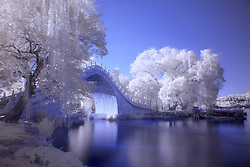 June 26, 2017 - Beijing, China - An almost Winter snow-like scene appears by using an Infrared camera of the Summer Palace in Beijing, China. (Credit Image: © SIPA Asia via ZUMA Wire)