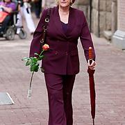 NLD/Amsterdam/20110722 - Afscheidsdienst voor John Kraaijkamp, Pamela Tevens