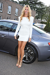 MELISSA ODABASH at a VIP dinner hosted by Maserati following the unveiling of the new Maserati 'Quattroporte' at The Hurlingham Club, London on 17th April 2013.