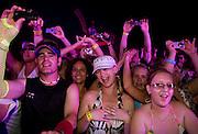 DJ Fatboy Slim plays at H2O water park, Johanesburg