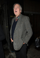 Stephen Fry at  the press night of the brand-new comedy Magic Goes Wrong. Vaudeville Theatre. London.,8th jan 2010
