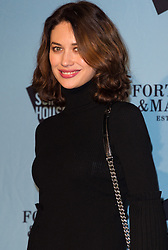 © Licensed to London News Pictures. 16/11/2016. OLGA KURYLENKO attends the Skate At Somerset House with Fortnum & Mason VIP Party. London, UK. Photo credit: Ray Tang/LNP