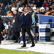 Fenerbahce's coach Ismail Kartal during the Turkish soccer super league match Bursaspor between Fenerbahce at the Ataturk Stadium in Bursa Turkey on Monday, 24 November 2014. Photo by Aykut AKICI/TURKPIX