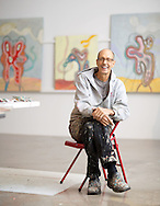 Artist and former CCAD preisdent Denny Griffith. (Will Shilling/Columbus Monthly)