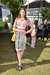 Sabrina Percy at the Laureus polo Cup at Ham Polo Club, Ham, London, England. 21 June 2018.