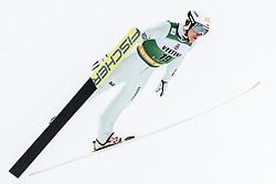 February 8, 2019 - Lahti, Finland - Adam CieÅ›lar competes during Nordic Combined, PCR/Qualification at Lahti Ski Games in Lahti, Finland on 8 February 2019. (Credit Image: © Antti Yrjonen/NurPhoto via ZUMA Press)