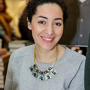 NLD/Amsterdam/20150228 - Feest der Letteren 2015, Saida Benali- Nadi
