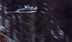 01.02.2019, Heini Klopfer Skiflugschanze, Oberstdorf, GER, FIS Weltcup Skiflug, Oberstdorf, im Bild Killian Peier (SUI) // Killian Peier of Switzerland during the FIS Ski Jumping World Cup at the Heini Klopfer Skiflugschanze in Oberstdorf, Germany on 2019/02/01. EXPA Pictures © 2019, PhotoCredit: EXPA/ JFK