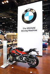 11 February 2016:  2016 BMW S1000 RR Motorcycle.<br /> <br /> First staged in 1901, the Chicago Auto Show is the largest auto show in North America and has been held more times than any other auto exposition on the continent.  It has been  presented by the Chicago Automobile Trade Association (CATA) since 1935.  It is held at McCormick Place, Chicago Illinois<br /> #CAS16