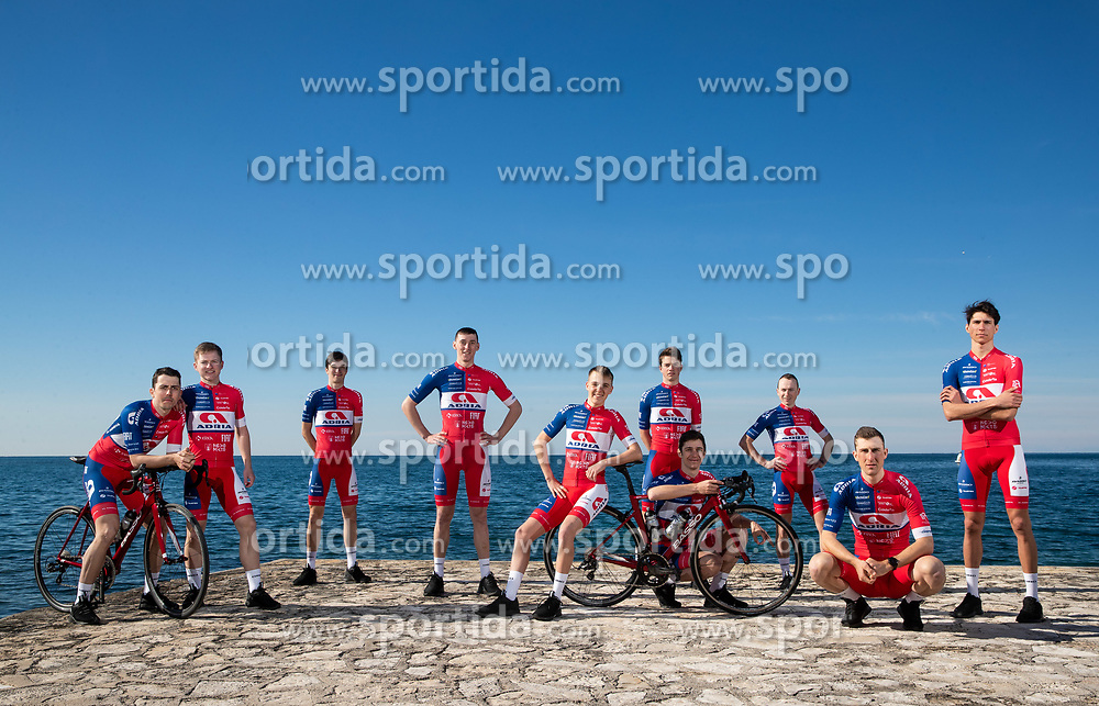 Professional Slovenian cycling team KK Adria Mobil before new season 2021 during training camp in Istria, on February 15, 2021 in Porec, Croatia. Photo by Vid Ponikvar / Sportida