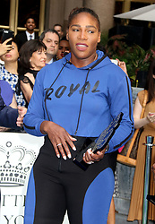 August 23, 2018 - New York City, New York, U.S. - Tennis player SERENA WILLIAMS attends the .2018 Lotte Palace Invitational Badminton Tournament held at the Lotte New York Palace. (Credit Image: © Nancy Kaszerman via ZUMA Wire)