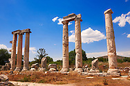 The Temple of Aphrodite,  Aphrodisias Archaeological site, Turkey