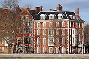 A majestic building near Chelsea Bridge, SW London