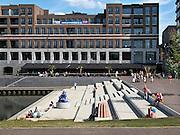 Nederland, Limburg, Venlo, 4-8-2013De nieuwbouw aan de Maasboulevard is een typisch voorbeeld van moderne en hedendaagse stadsontwikkeling.Foto: Flip Franssen/Hollandse Hoogte