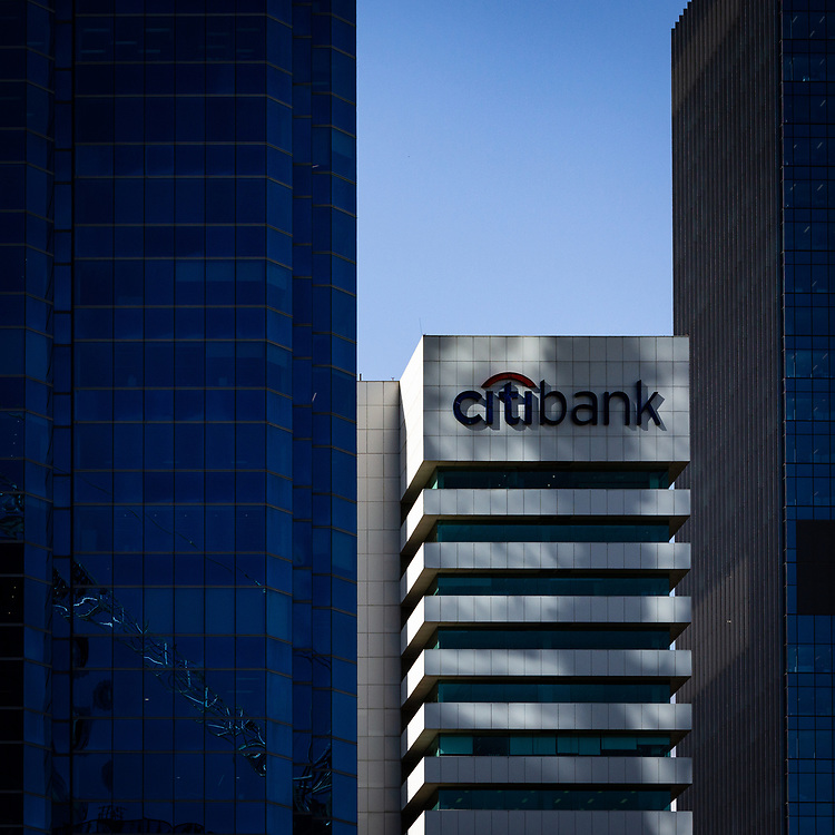 The Citibank building in the Perth CBD, Western Australia Thursday August 20, 2020.
