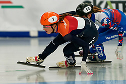 Suzanne Schulting (NED) on 1500 meter semifinals during ISU European Short Track Speed Skating Championships 2020 on January 25, 2020 in Fonix Hall, Debrecen, Hungary