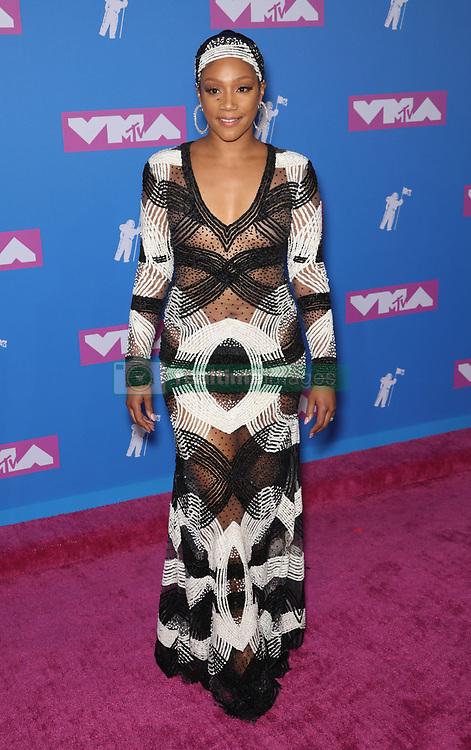 August 21, 2018 - New York City, New York, USA - 8/20/18.Tiffany Haddish at the 2018 MTV Video Music Awards held at Radio City Music Hall in New York City..(NYC) (Credit Image: © Starmax/Newscom via ZUMA Press)