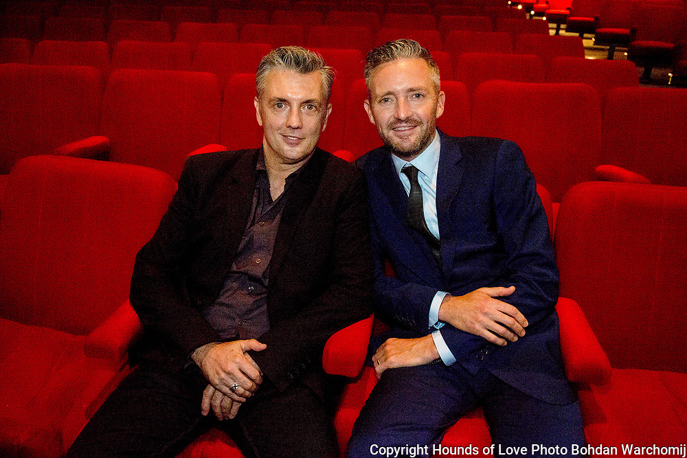 Christian Horgan and Stephen Curry at screening of Hounds of Love Photo Bohdan Warchomij